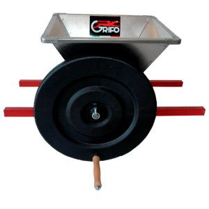 mini-stainless-steel-grape-crusher-by-hand-pmni-grifo-marchetti-enology-machines